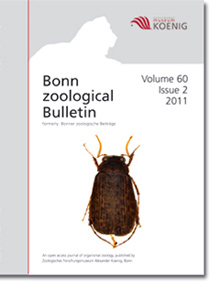 Bonn zoological Bulletin